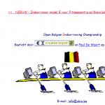 Open Belgian Indoorrowing Championship